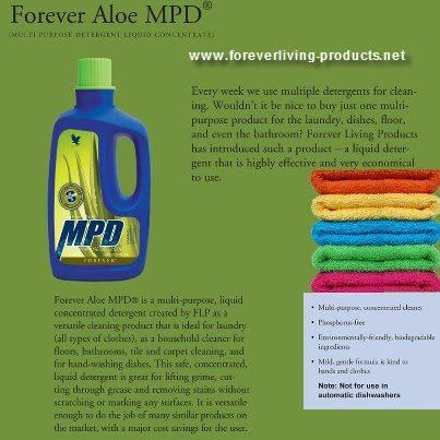 Forever Aloe MPD, A fantastic product, last for ages kind to your environment, skin and animals, and also your budget no need for all those other cleaning products.