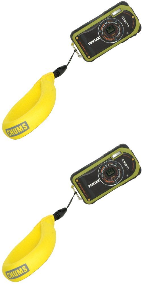 Chums Waterproof Camera Float - Save your new digital camera from going to the bottom of the lake, river, or ocean. The soft, foam-filled neoprene wrist lanyard easily attaches to most lightweight, point & shoot, waterproof cameras ... - Camera Cases - Photo & Camera - $6.77-A must have!