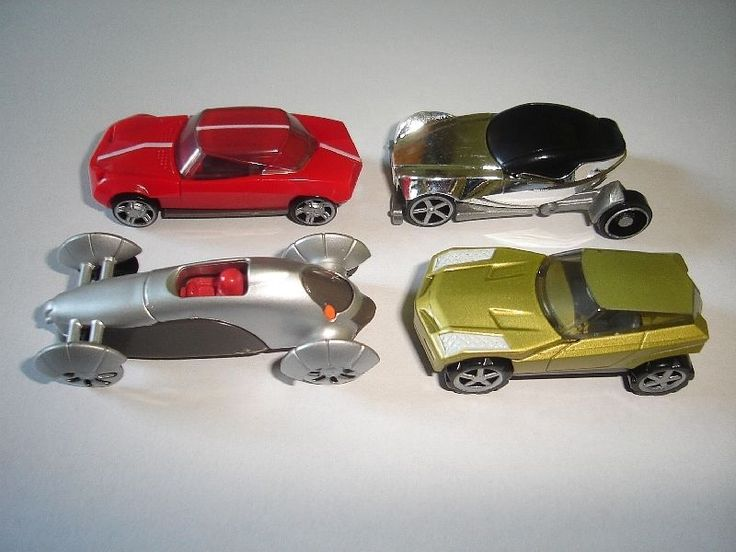 Prototypes Design Model Cars Set 1 87 H0 Kinder Surprise Plastic Miniatures | eBay