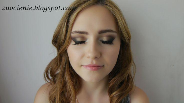 evening neutral colours makeup