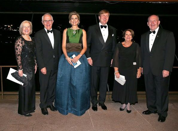 Queen Maxima and King Willem-Alexander attended a concert at the Sydney Opera House