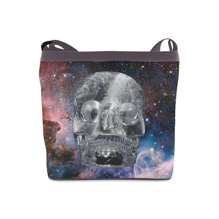 Crystall Skull Crossbody Bags (Model 1613)