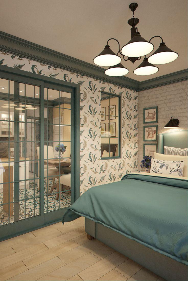Фотография: Спальня в стиле , Квартира, Gramercy Home, Дома и квартиры, IKEA, Проект недели, марина саркисян, 36 квадратных метров, как зонировать однокомнатную квартиру – фото на InMyRoom.ru