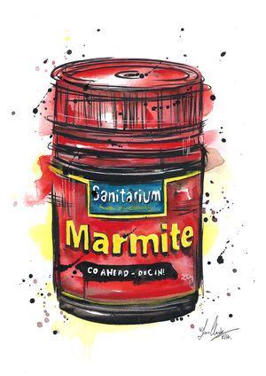 Marmite splash