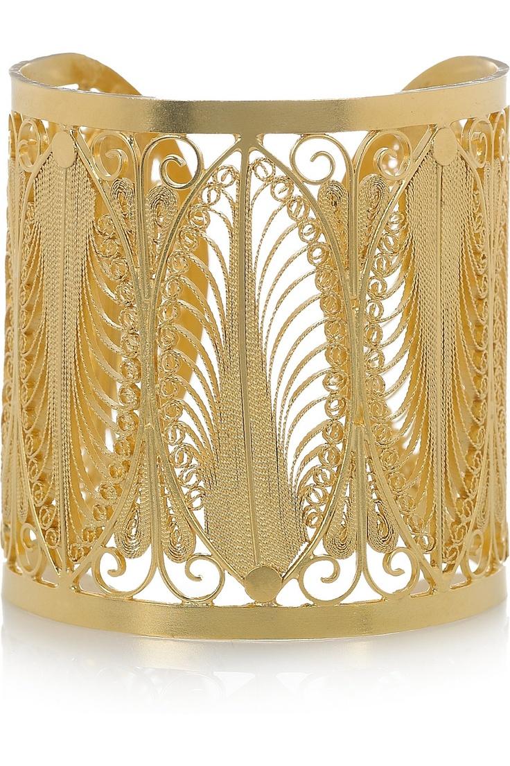 Beautiful delicate cuff. Mallarino, $1,410