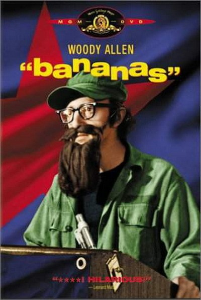 """Before Sasha Baron Cohen, Woody Allen created the best dictator ever in """"Banannas."""""""