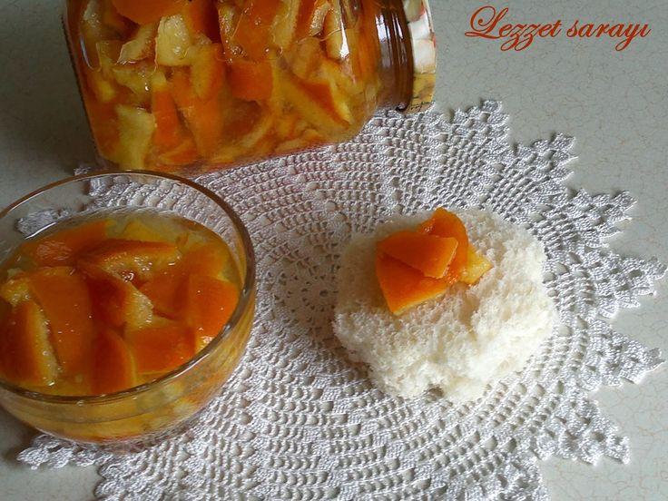 Portakal Kabuğu Reçeli   Lezzet sarayı