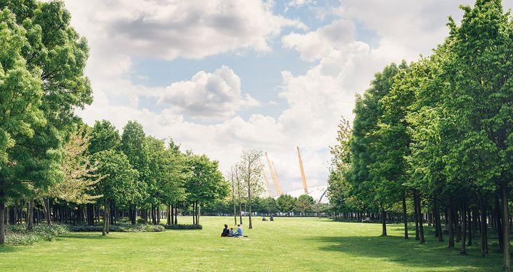 GREENWICH PENINSULA PARK. London. UK. 2000.