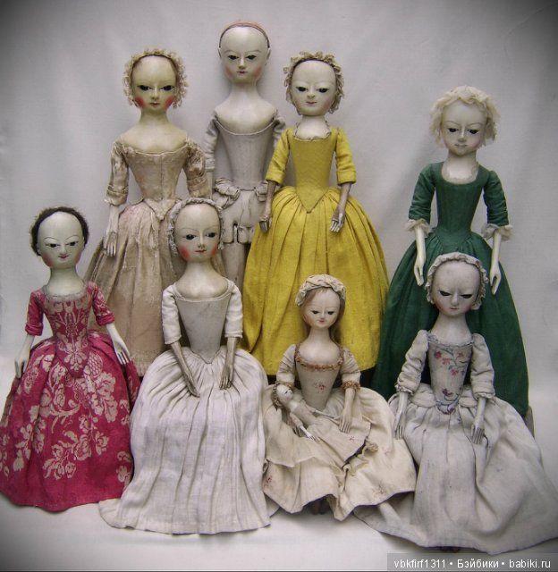 АННЕТ Queen Anne Style Doll или в каморке у папы Карло.Часть... / Другие винтажные антикварные куклы, реплики / Бэйбики. Куклы фото. Одежда для кукол