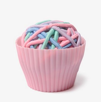 Ladies and gents, we'd like to introduce to you to Forever 21′s Hair Elastic Cupcake.