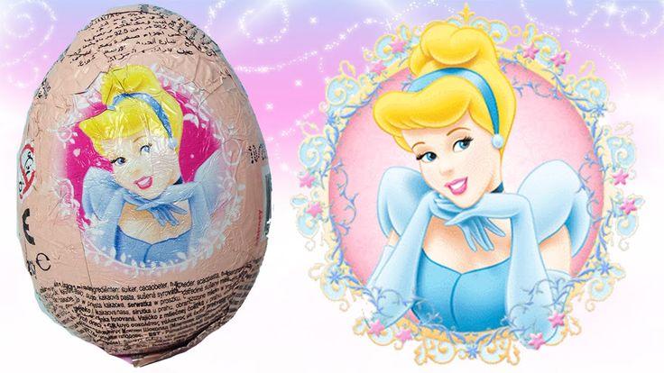Disney Prenses Sindirella Sürpriz Yumurta Oyuncak Açma