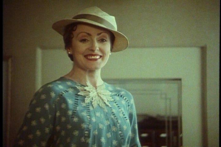 Pauline Moran as Miss Lemon in the Poirot series.