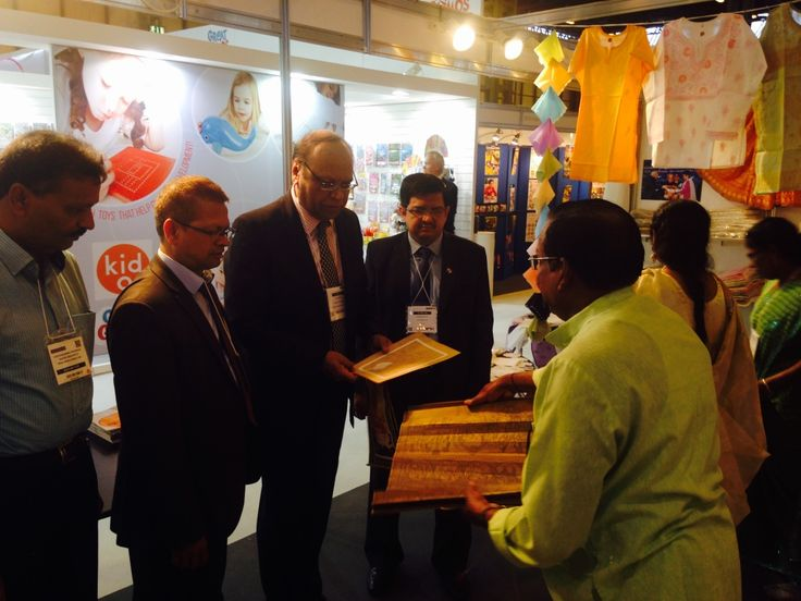 EPCH participation in The Autumn Fair 2016 for the promotion of Indian handicrafts. #epchindia — in Birmingham, United Kingdom.
