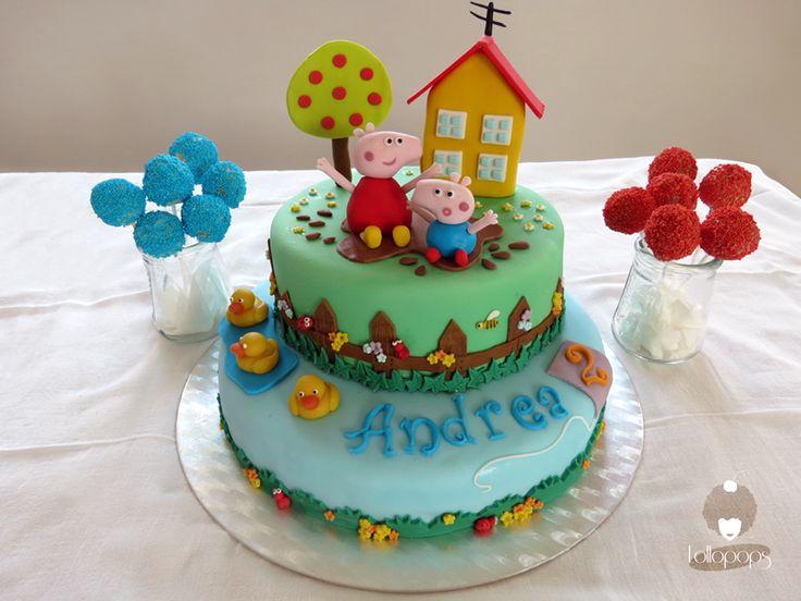 Cake Peppa et George