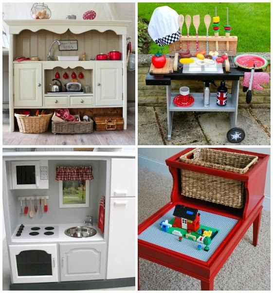 repurposed furniture for kids. repurposed projects for kids probably not a did me but these were too cute furniture p
