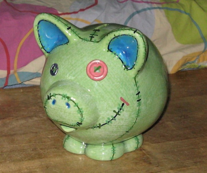 14 best ready to paint images on pinterest for How to paint a ceramic piggy bank