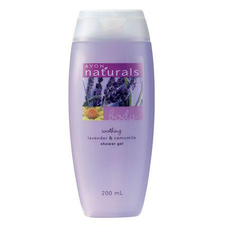 Lavender And Chamomile Shower Gel