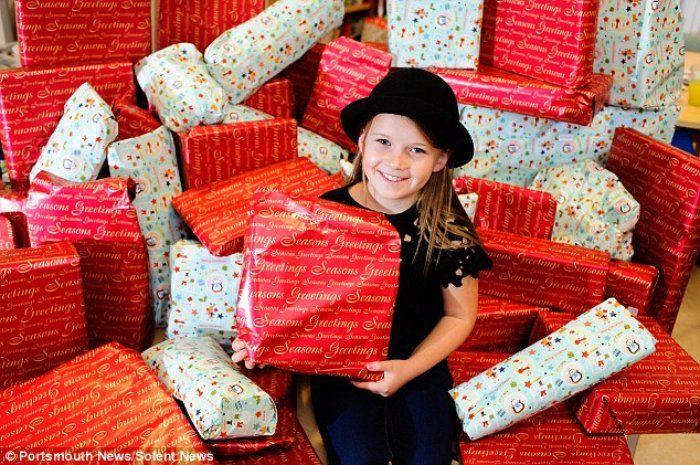 """Hasta Çocuklar İçin Tüm Harçlığını Biriktiren 8 Yaşındaki """"Maisie Hymers"""" - http://www.aylakkarga.com/hasta-cocuklar-icin-tum-harcligini-biriktiren-8-yasindaki-maisie-hymers/"""