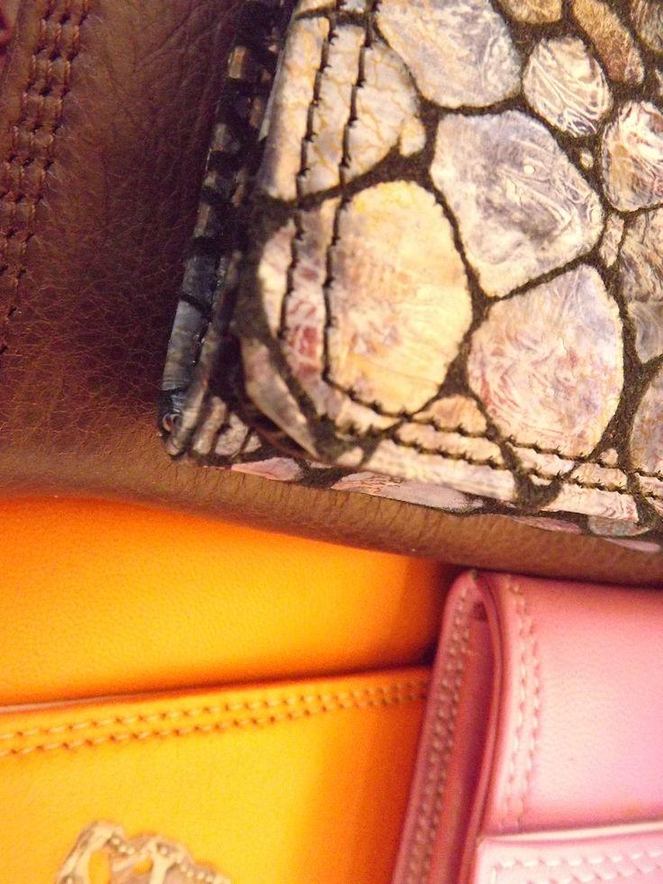 Borsetteria Poldina Linea Accessori - Collezione 2014 Vera Pelle Fatti a Mano Made in Italy