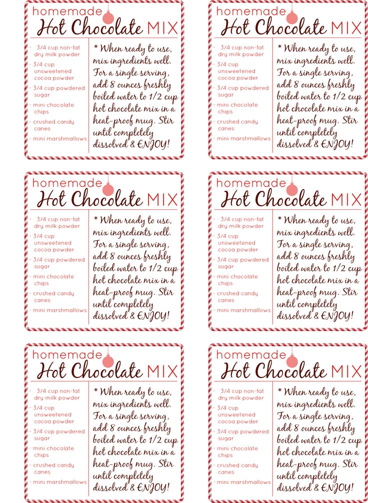 Homemade-Hot-Chocolate-Gift-Tag-Set.png 2,251×3,075 pixels