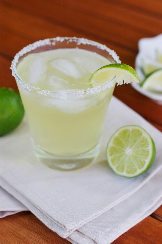 Top Shelf Margarita ~ a version worthy of top shelf status, without breaking the bank.   www.thekitchenismyplayground.com