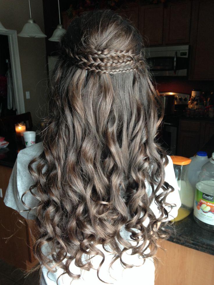 Cute Hairstyles For School Dances