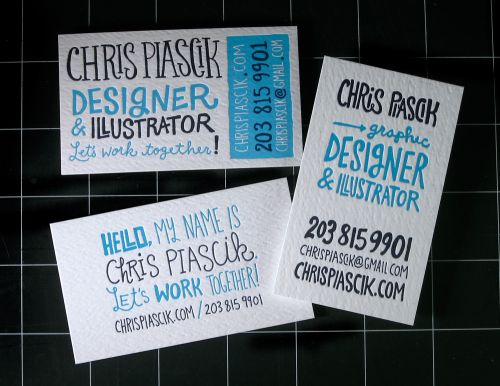 Oh So Beautiful Paper: Business Card Ideas and Inspiration #4