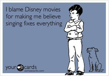 HUH!! come Disney movies