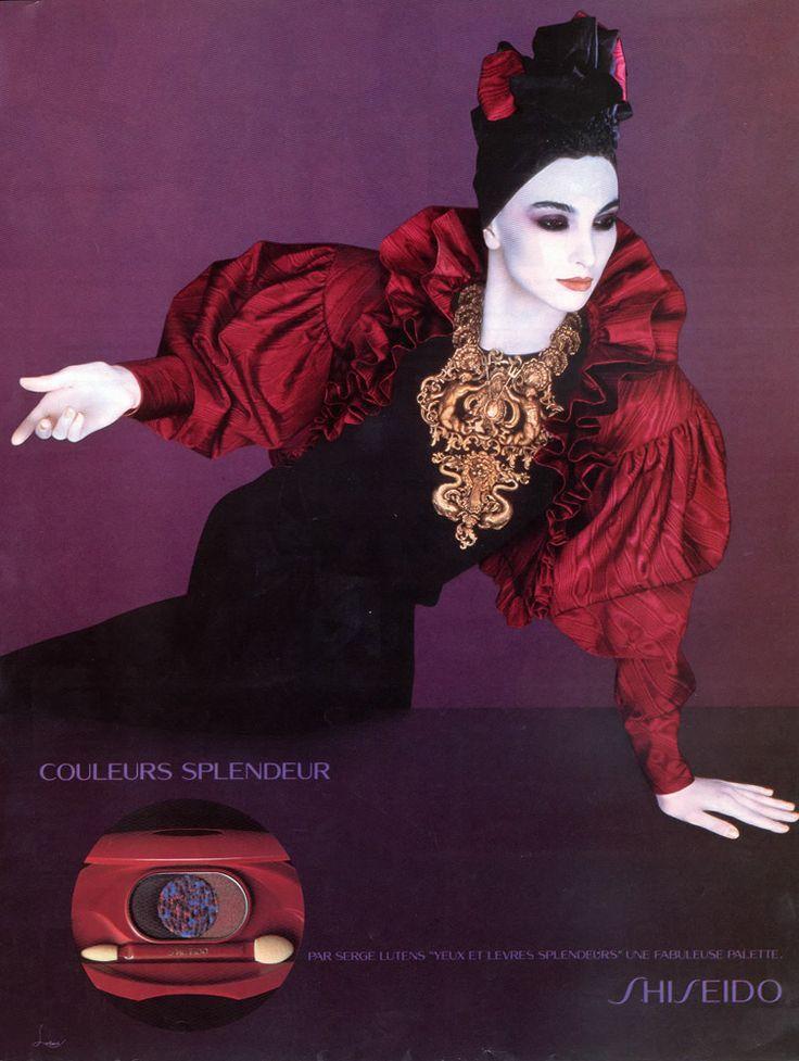 Οι φωτογραφίες της Ελενας Κουντουρά όταν ήταν μούσα του κορυφαίου Serge Lutens [εικόνες & βίντεο] | iefimerida.gr