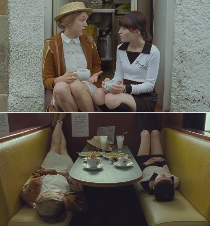 """""""God Help the Girl"""" music by Belle and Sebastian, starring Emily Browning and Olly Alexander."""