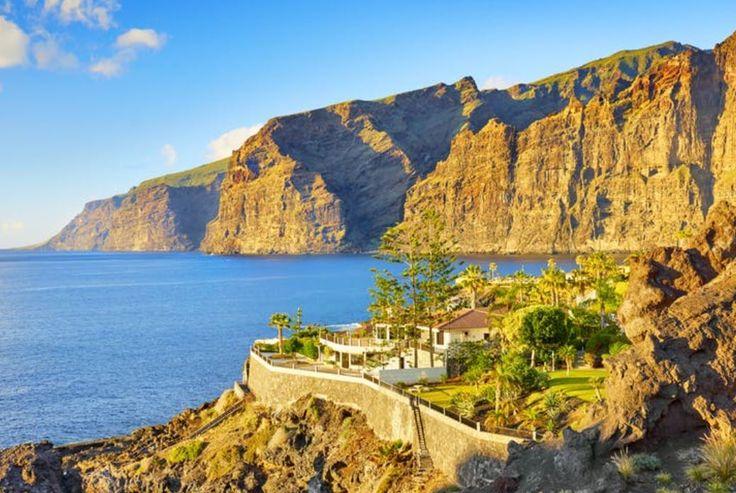 Kliffen van Los Gigantes Tenerife