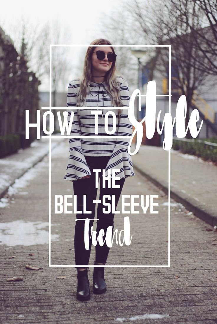How to style: The Bell-sleeve trend. Want to know how I style the Bell-sleeve trend in a chic way? Also want some Bell-sleeve options to buy for yourself? Then you should read my post at A little bit of Britt!