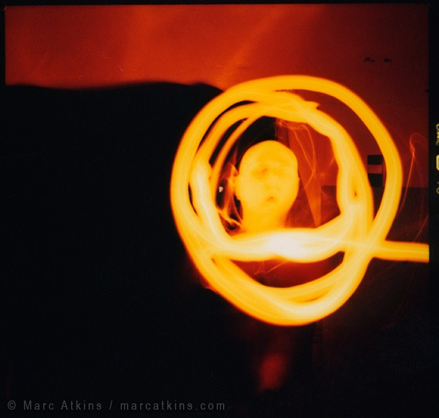 """Marc Atkins 'Light-Time' (used for cover of David Lynch single """"I Know"""")"""
