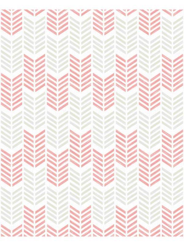 Papier Peint Style Scandinave Rose