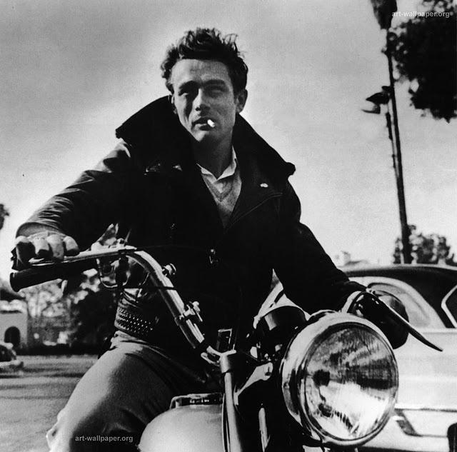 The Rebel - James Dean. #Motorcycling #Riding #SummerofDoing