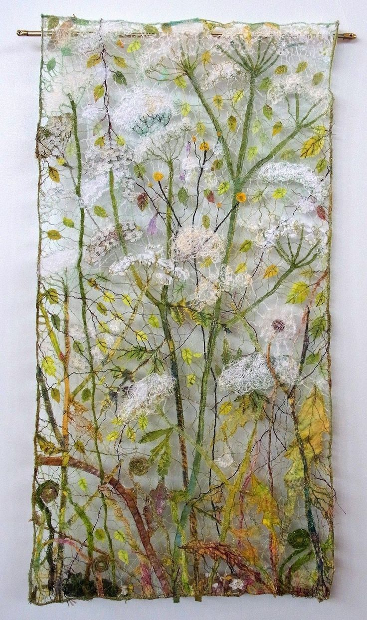 Quilthexle's World: Seen at the show in Karlsruhe: Art Quilts by Maija Brummer