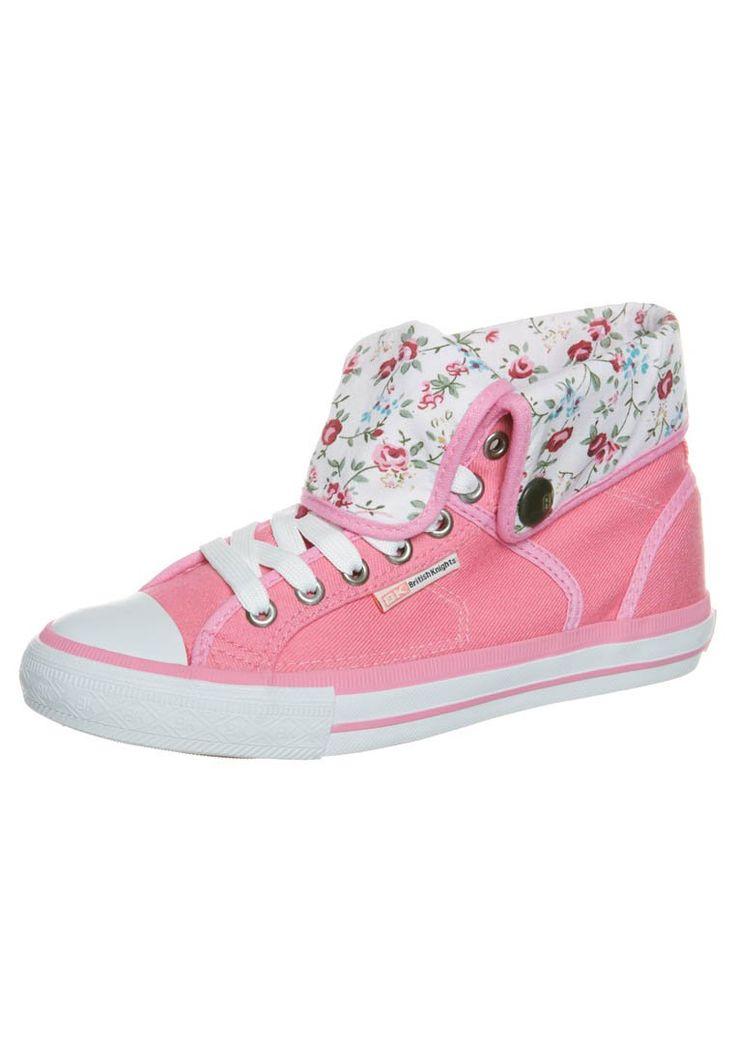 Gastos Corte de pelo Opinión  British Knights REXES - Sneakers high - pink - Zalando.dk | Sneakers, Cute  shoes, High top sneakers