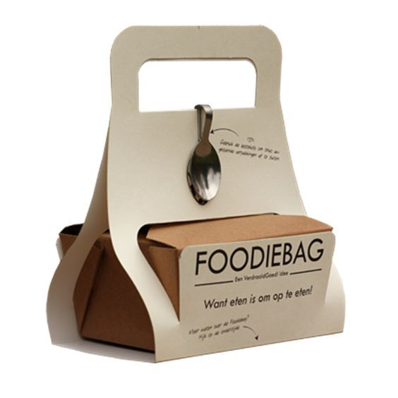 Foodiebag - to promote doggy bags and stop spilling food in ...