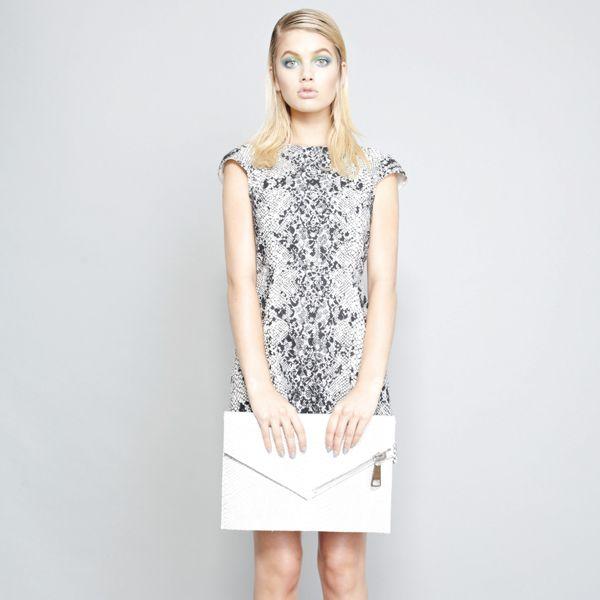 Serpent Lace A Line Dress.  Shop online now: www.shakuhachi.net  Questions? Email: admin@shakuhachi.net
