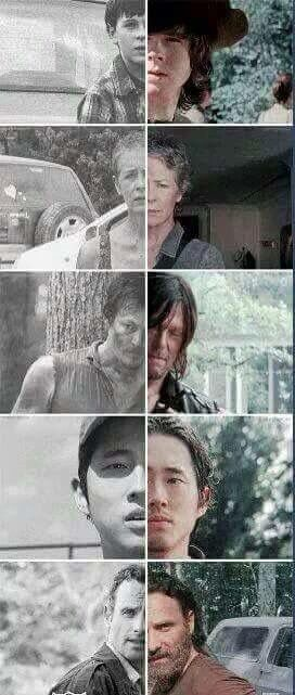 The Atlanta Five | The Walking Dead