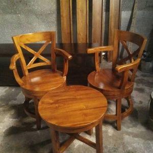 Kursi Teras Berputar | Alfah Furniture