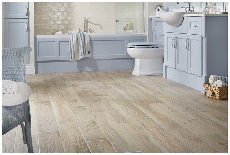 Authentic textured wood effect porcelain plank #tiles in driftwood
