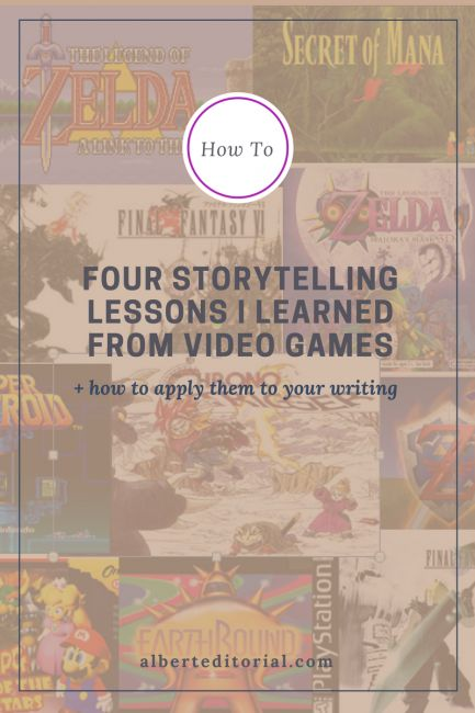 Four Storytelling Lessons I Learned from Video Games