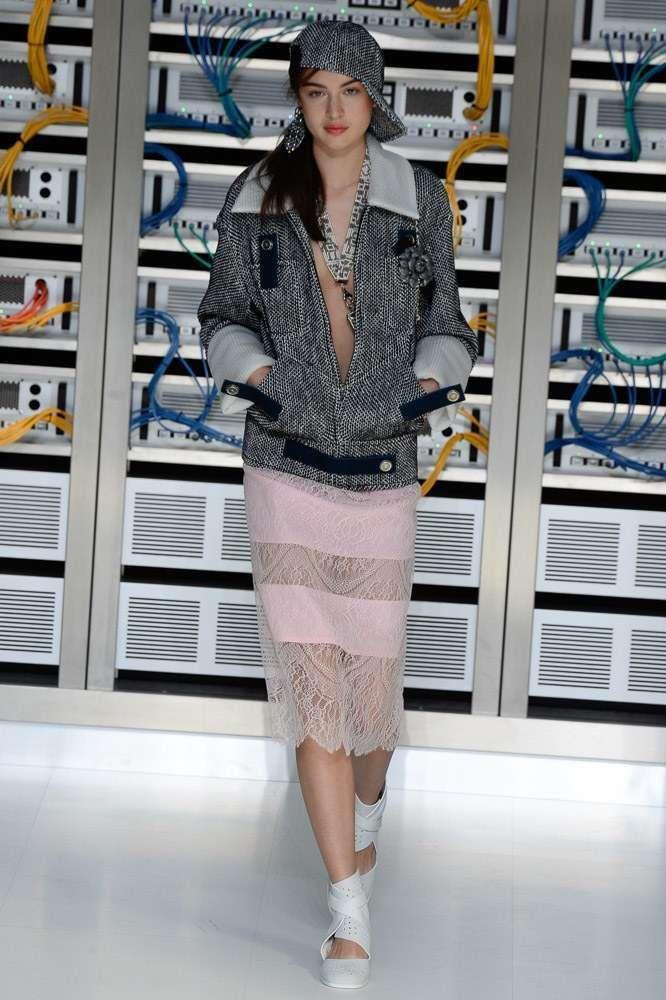 Gonne Primavera-Estate 2017 - Gonna rosa Chanel