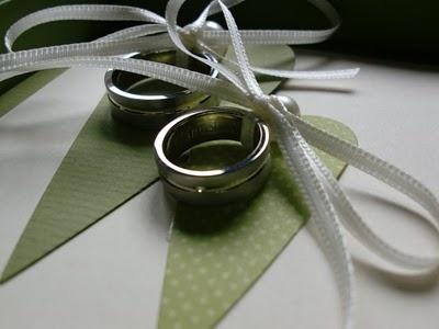 Ringkästchen statt Ringkissen