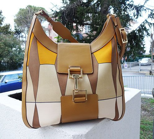 splendida borsa a spalla Gucci Vintage anni di Leschosesdemanu