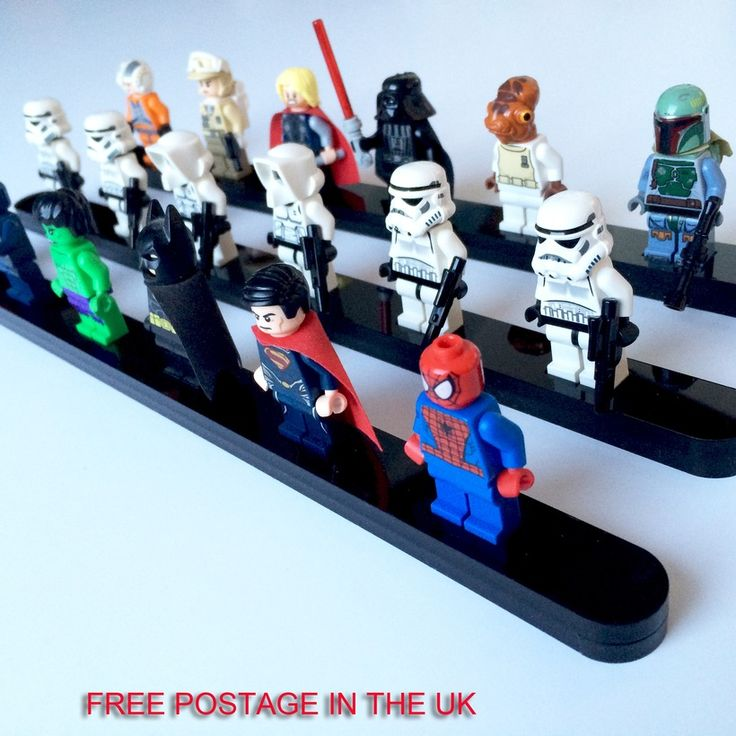 Lego+Minifigure+laser+cut+display+stand