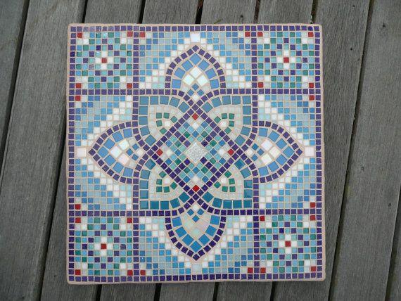 Moroccan Arabic Inspired Mosaic Coffee Table door EsthersMosaics