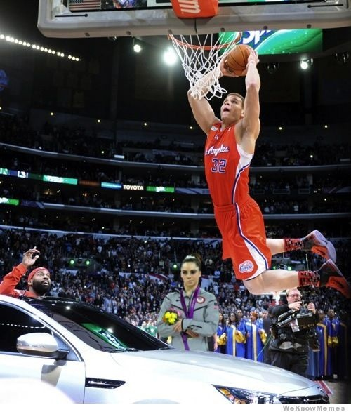 McKayla Maroney is not impressed with Blake Griffin