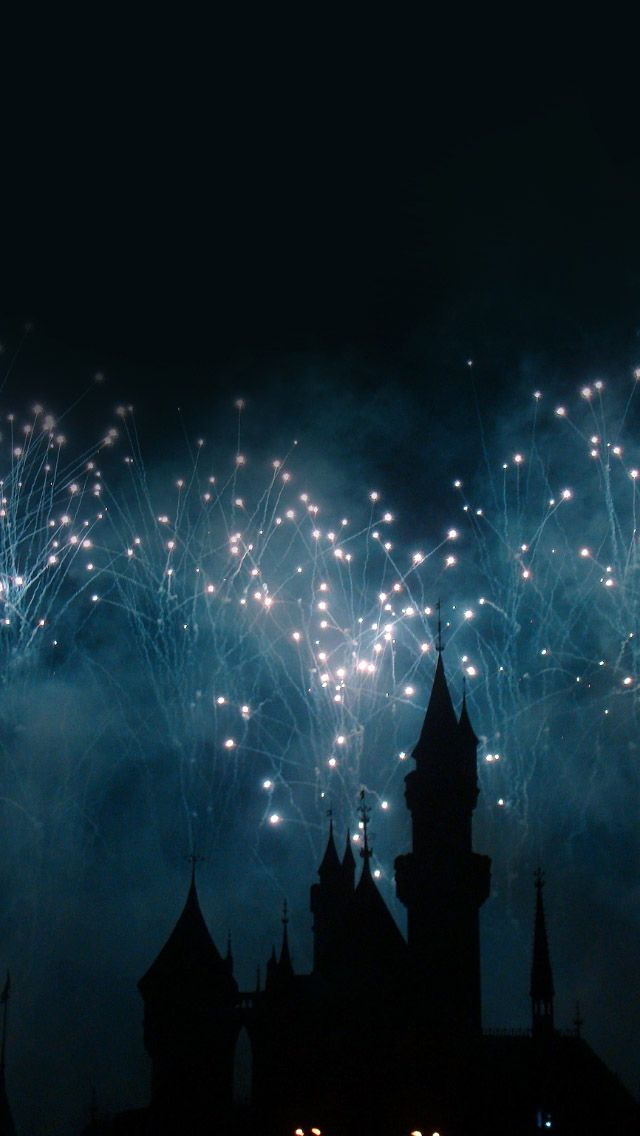 Dream Castle Firework #iPhone #5s #Wallpaper